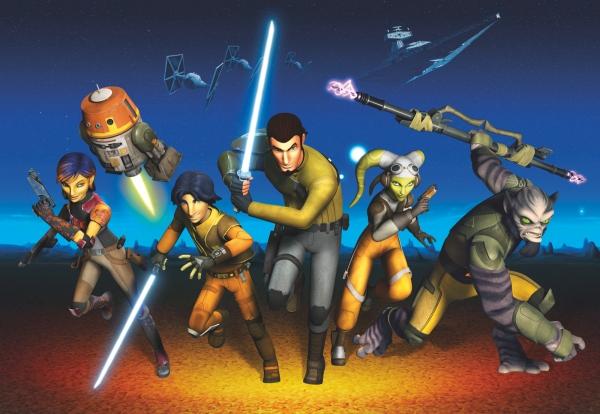 Fototapet 8-486 STAR WARS Rebels Run