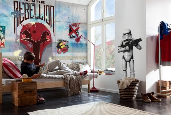 Fototapet 8-485 STAR WARS Rebels Wall