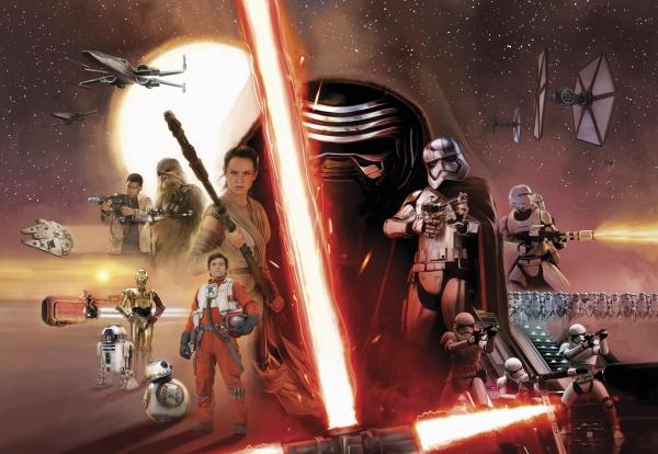 Fototapet 8-492 STAR WARS EP7 Collage
