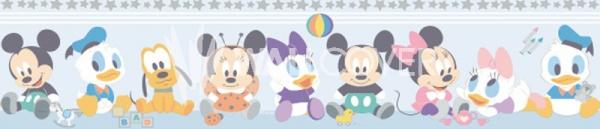Bordura autoadeziva copii MK 35001 Disney Deco