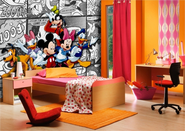 Fototapet FTDxxl 0260 Clubul lui Mickey Mouse