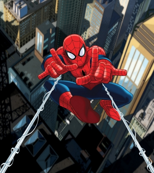 Fototapet FTDxl 1923 Spiderman in lupta
