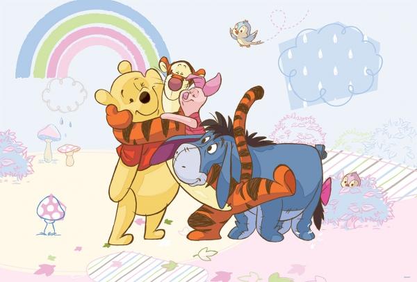 Fototapet 315 P4 Winnie intre prieteni