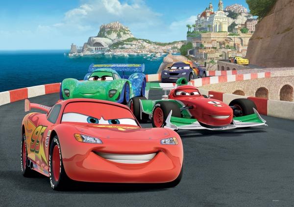 Fototapet 320 P4 Cars Race