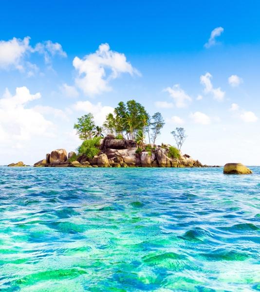 Fototapet FTL 1619 Peisaj Insula
