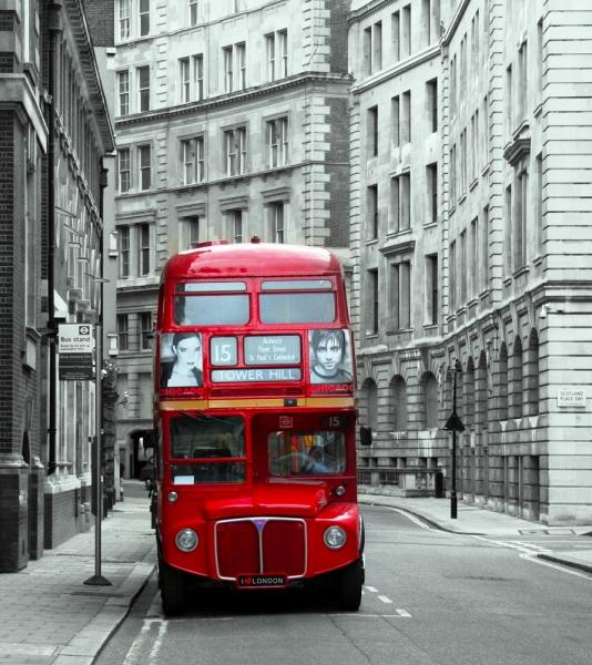 Fototapet FTL 1600 London Bus