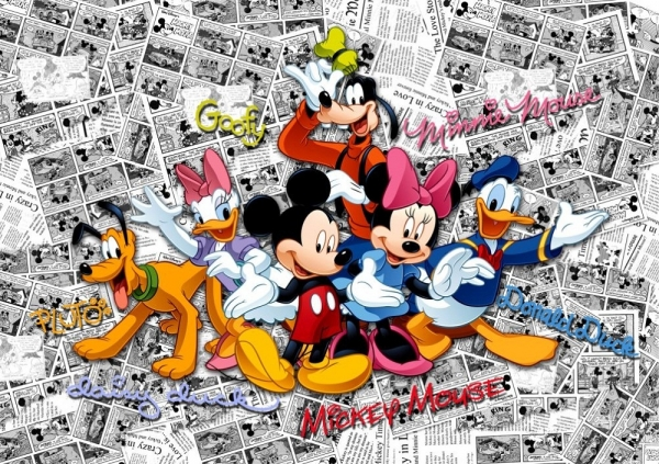 Fototapet FTD 2225 Mickey si prietenii