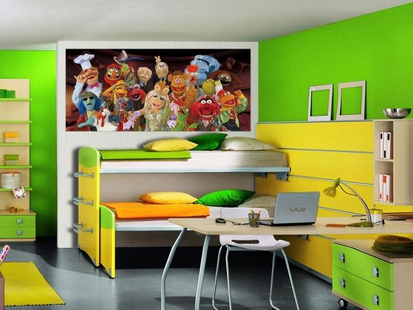 Fototapet FTDh 0609 Muppets