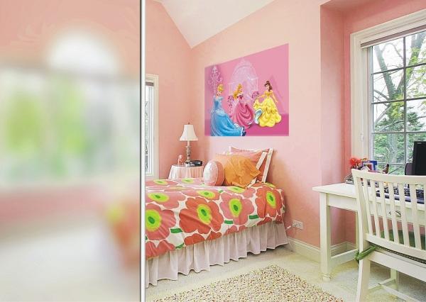 Fototapet FTDm 0286 Printese in castelul roz