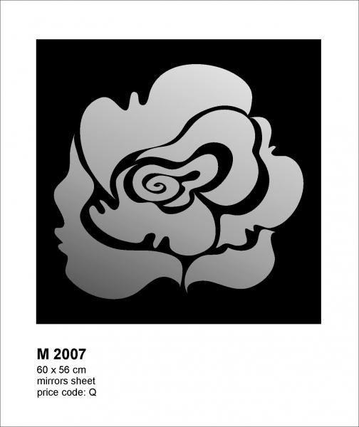 Oglinda M2007 Floare