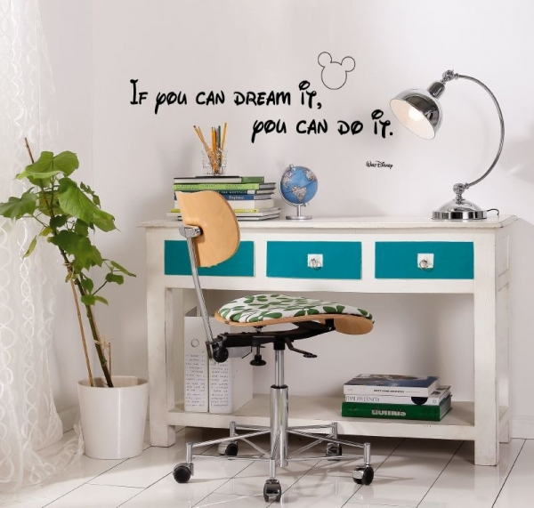 Sticker decorativ 14002 You can do it
