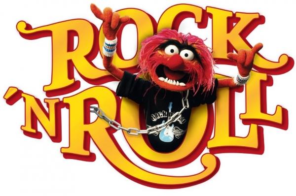 Sticker decorativ 14010 Muppets Rock'n Roll
