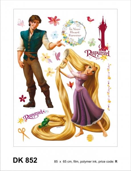 Sticker decorativ DK852 Rapunzel & Flynn