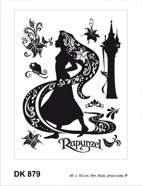 Sticker decorativ DK879 Rapunzel