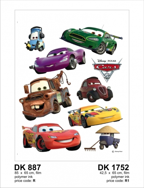 Sticker decorativ DK887 Cars