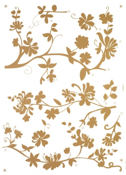 Sticker decorativ 17015 Frasca