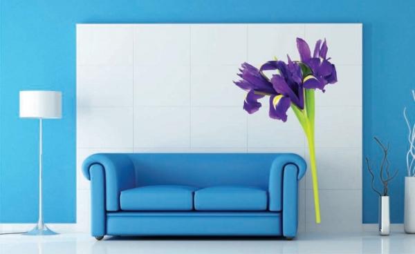 Sticker decorativ F0464 Iris violet