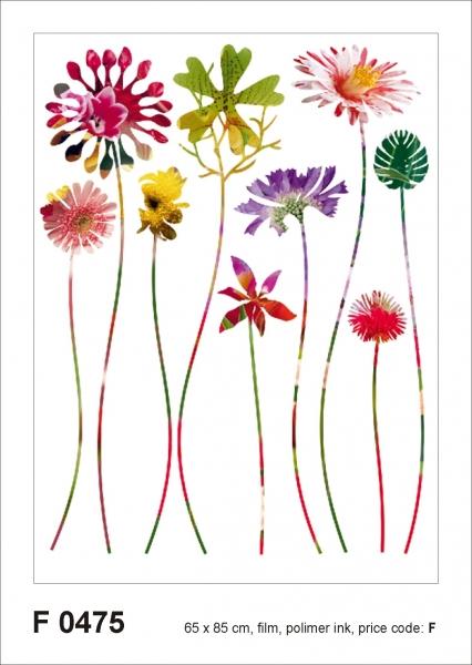 Sticker decorativ F0475 Floral Fantasy