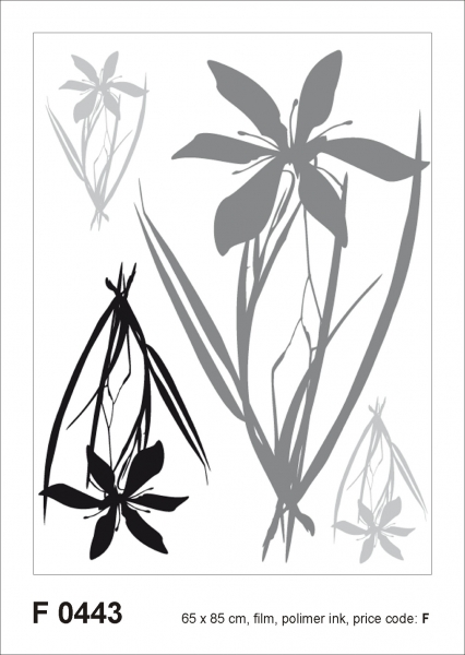 Sticker decorativ F0443 Floral