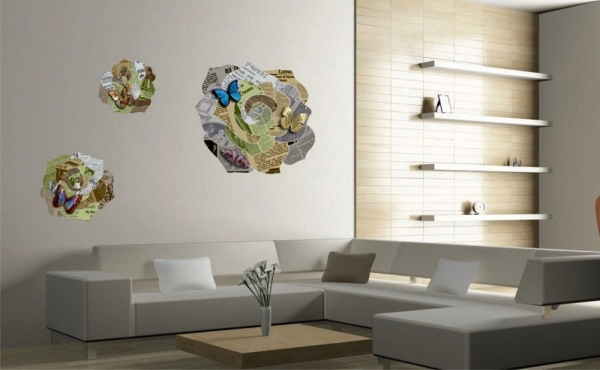 Sticker decorativ F1019 Origami