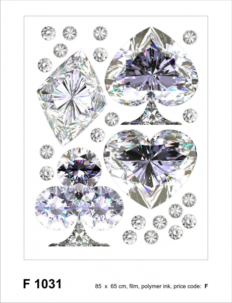 Sticker decorativ F1031 Diamante