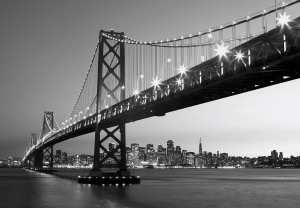 Fototapet 00134 Orizont San Francisco