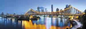 Fototapet XXL2-010 Peisaj urban Brisbane
