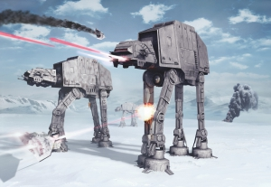 Fototapet 8-481 STAR WARS Battle of Hoth