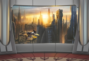 Fototapet 8-483 STAR WARS Coruscant View