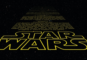 Fototapet 8-487 STAR WARS Intro