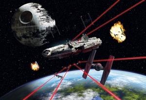 Fototapet 8-489 STAR WARS Millennium Falcon