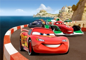 Fototapet FTDxxl 0255 Cursa Cars