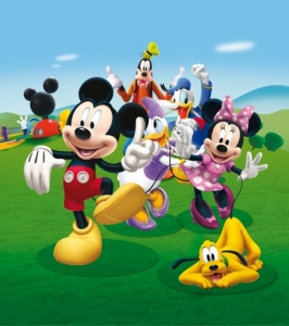 Fototapet FTDxl 1931 Clubul lui Mickey Mouse