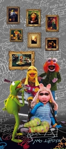 Fototapet FTDv 1806 The Muppets Band