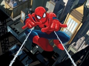 Fototapet FTDxxl 2212 Spiderman in actiune