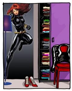 Fototapet 1430 Black Widow
