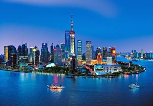 Fototapet 00135 Panorama Shanghai