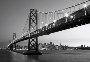 Fototapet 00958 San Francisco Skyline