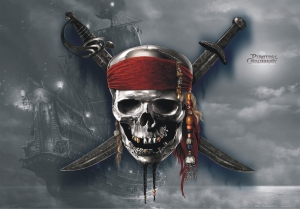 Fototapet FTDm 0285 Piratii din Caraibe