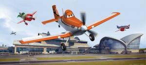 Fototapet FTDh 0637 Planes in zbor