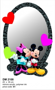 Oglinda DM2108 Mickey Mouse & Minnie