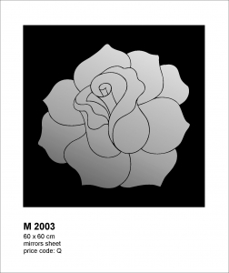 Oglinda M2003 Floral