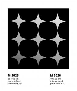 Oglinda M2025 Stelute