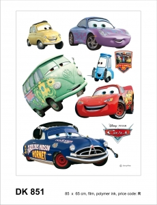Sticker decorativ DK851 Cars