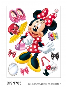Sticker decorativ DK1703 Minnie Mouse