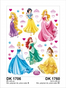 Sticker decorativ DK1760 Printese Disney
