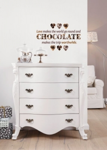 Sticker decorativ 17048 Chocolate