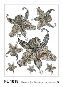 Sticker decorativ FL1018 Flori