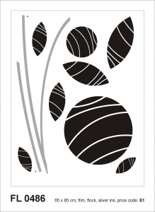 Sticker decorativ FL0486 Floral