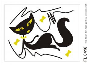 Sticker decorativ FL 0416 Pisica